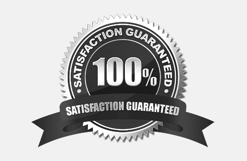 Satisfaction is guaranteed with our work